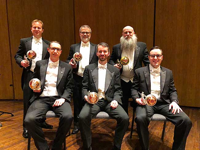 Lexington Philharmonic Orchestra Trumpets with Gemini